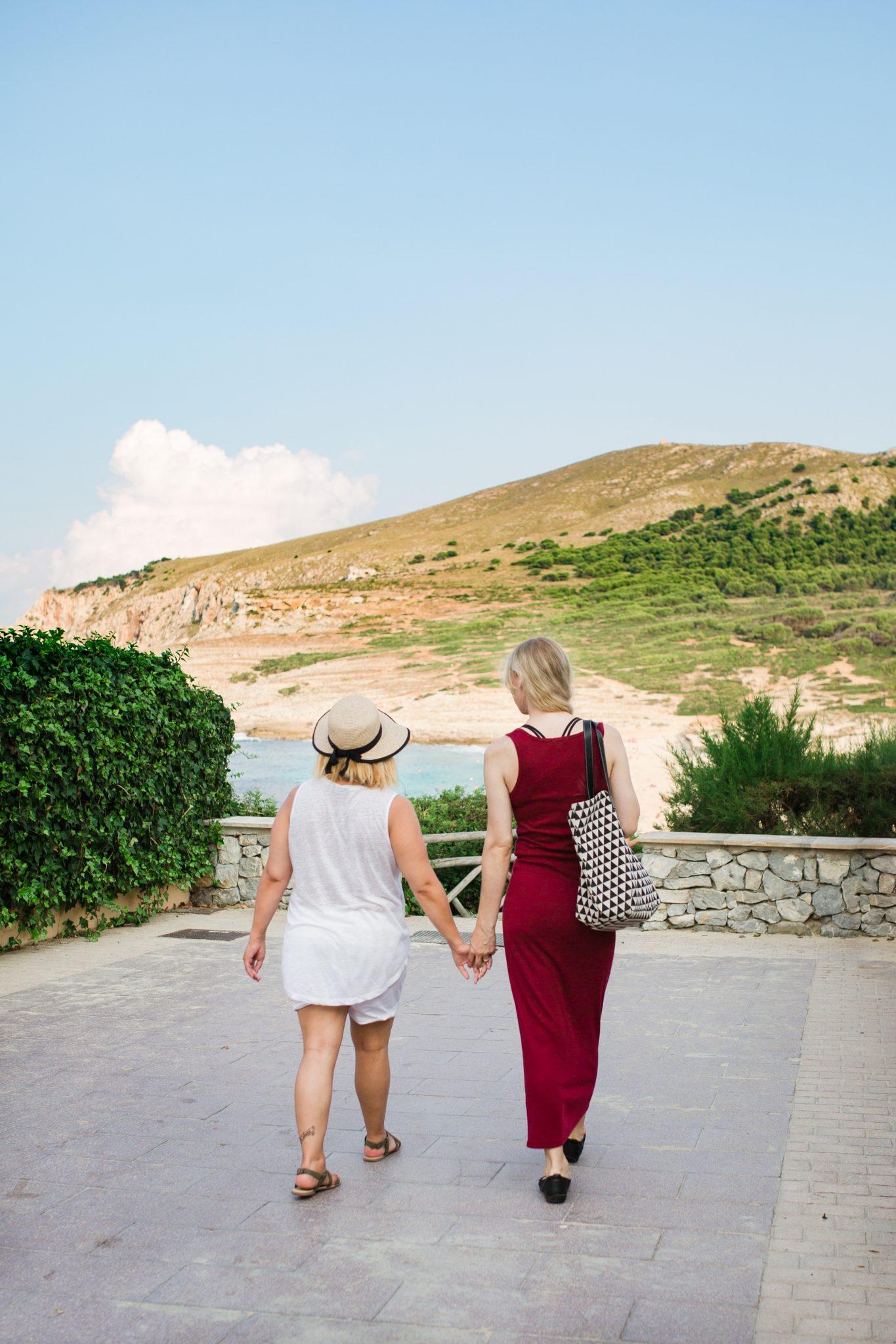 Linda honeymoon cala mesquida Mallorca 6