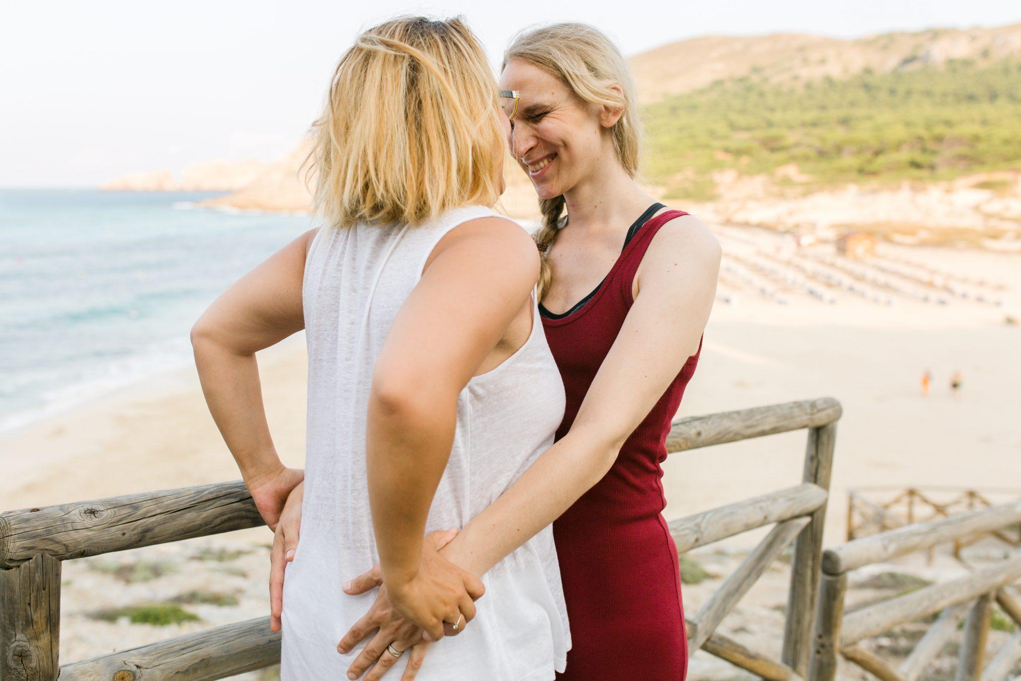 Linda honeymoon cala mesquida Mallorca 9